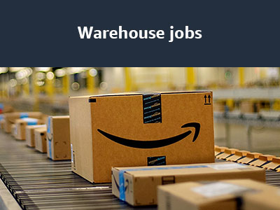 Find an Amazon warehouse job in Connecticut
